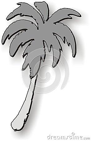 Dessin de palmier photos libres de droits image 122378 - Palmier dessin ...