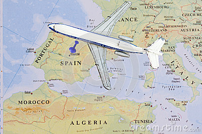 Destination Madrid ,Spain