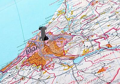 Destination Riga, Lettonie