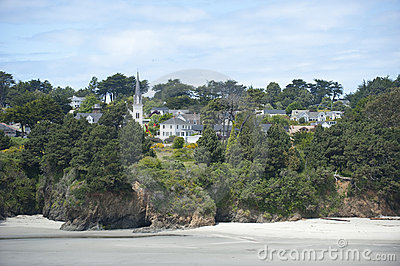 Destination scenic, Mendocino Village, California