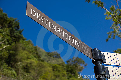 Destination Sign