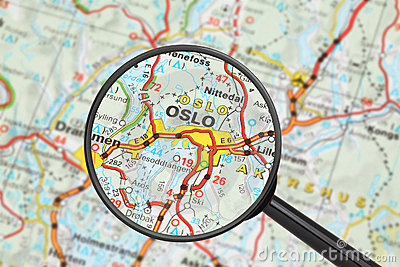 Destino - Oslo (com lupa)