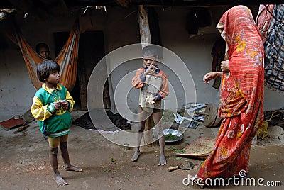 Destiny of The Khajuraho People Editorial Photography