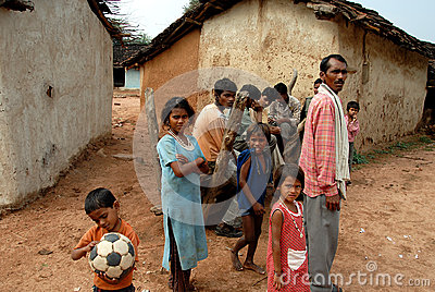 Destiny of The Khajuraho People Editorial Stock Image