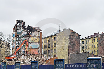 Destruction of Apartment Buildings