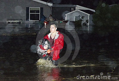 Destruction in Berlin Vermont: Hurricane Irene Editorial Photography