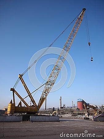 Destruction,Crane