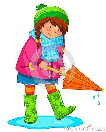 Deszczowy dzień