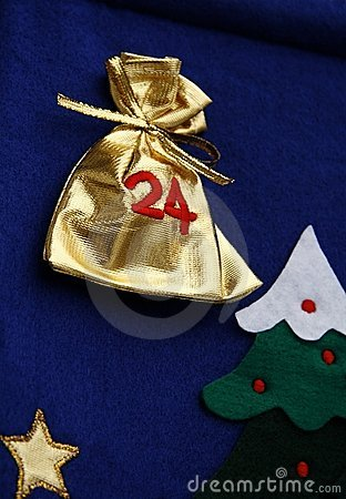 Detail of advent calendar