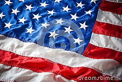 Detail of American Flag Stars