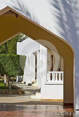 Detail of Arabic doorway
