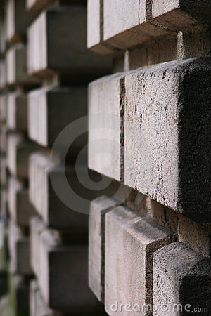 Detail of brickwork of Victorian stately home
