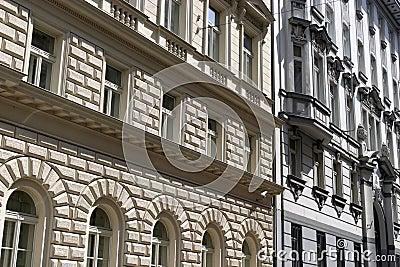 Detail of buildings