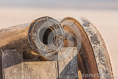 Detail of cannon