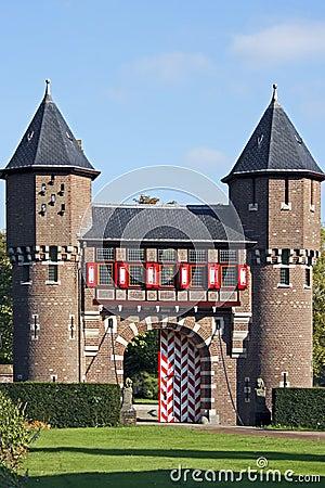 Detail from castle  De Haar  Editorial Image