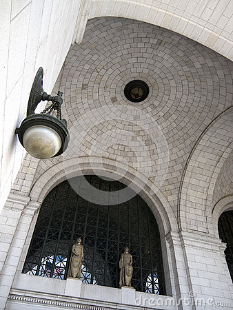 Detail of ceiling in Union Station