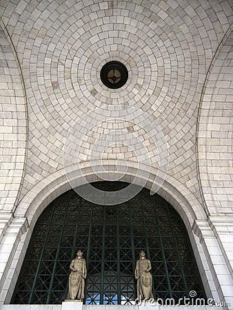 Detail of ceiling of Union Station, Washington DC