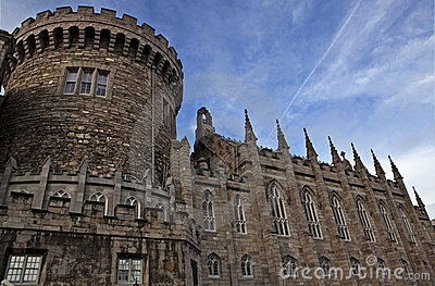 Detail of Dublin castle