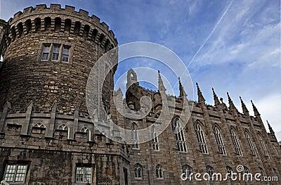 Detail of Dublin castle