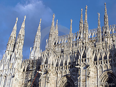 Detail: Duomo of Milan