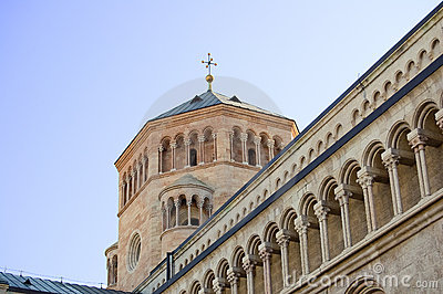 Detail of the Duomo of Trento