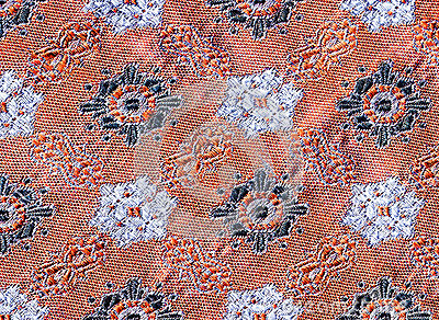 Detail of fabric.