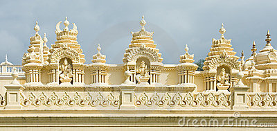 Detail of the famous Mysore Palace
