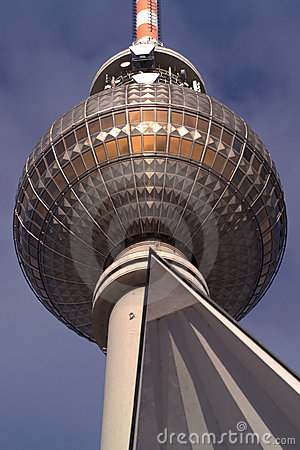 Detail of Fernsehturm