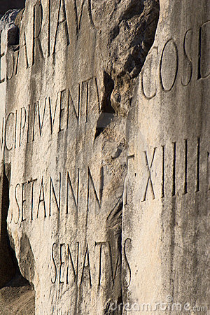Free Detail From Forum Romanum In Rome Royalty Free Stock Photography - 4840617