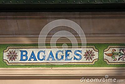 Detail of Gare des Brotteaux