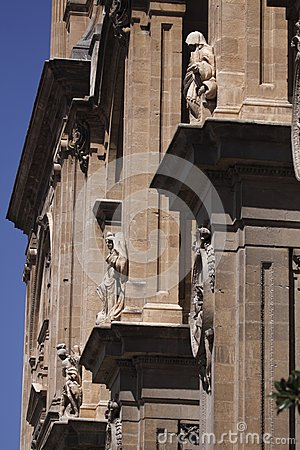 Detail of Granada cathedral