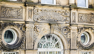 Detail of grand assembly rooms