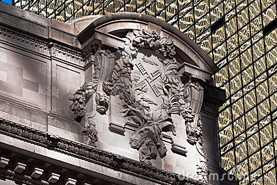 Detail of Grand Central Station in New York City