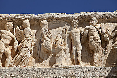 Detail of Hadrian s Temple in Ephesus