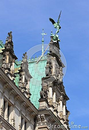 Detail of Hamburg Town Hall