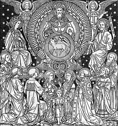detail from liturgy book