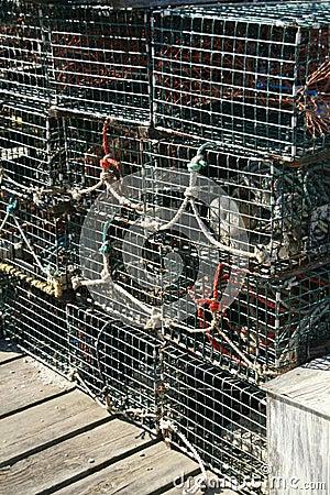 Free Detail, Lobster Traps Stock Photos - 1527243