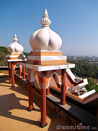 Detail of Maruti Temple
