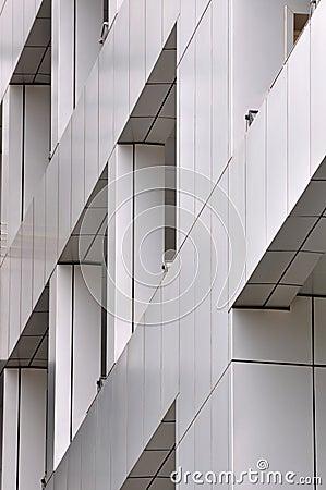Detail of modern building