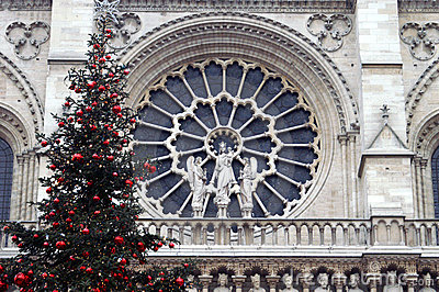 Detail of the Notre Dame Paris