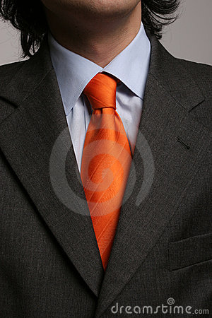 Free Detail Of A Suit And A Tie Royalty Free Stock Photos - 5238638