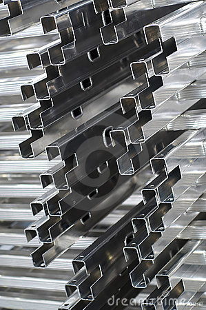 Free Detail Of Aluminium Profiles Stock Image - 2020561