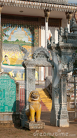 Free Detail Of Buddhist Temple In Cambodia Stock Image - 26690531