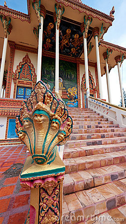 Free Detail Of Buddhist Temple In Sisophon, Cambodia Stock Images - 21540784