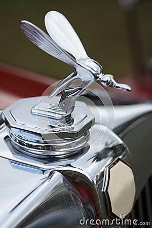 Free Detail Of Classic British Car Radiator Mascot Stock Photo - 1908640