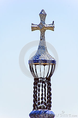 Free Detail Of Cross Tower Royalty Free Stock Images - 38123019