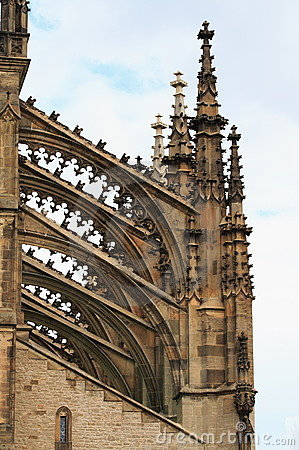 Free Detail Of Gothic Architecture Royalty Free Stock Image - 3793416