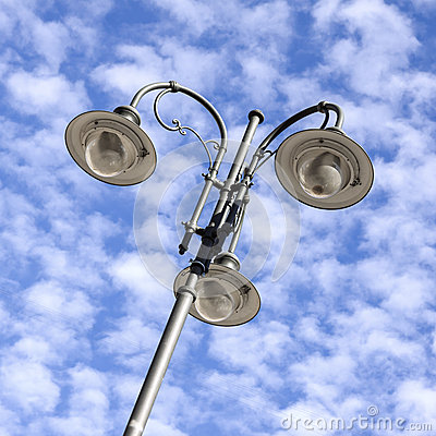 Free Detail Of Lamppost Royalty Free Stock Photos - 48587748