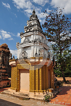 Free Detail Of Lolei Temple  In Siem Reap,Cambodia. Stock Images - 38179194