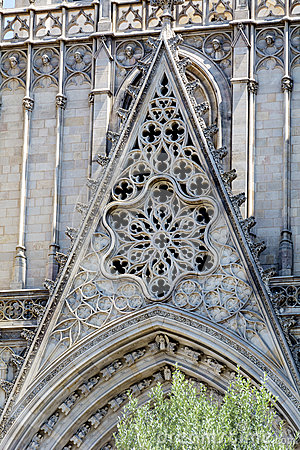Free Detail Of Sagrada Familia In Barcelona,Spain Stock Photography - 66952732